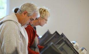Un exemple de vote par anticipation aux Etats-Unis en 2016.