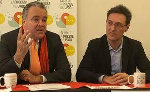 Denis Broliquier et Eric Lafond ont décidé d'unir leurs listes en vue des municipales à Lyon.