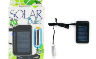 Un sex toy à batterie solaire.