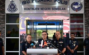 Mohamad Mat Yusop, chef de la police de l'Etat de Negeri Sembilan, au sud de Kuala Lumpur, a dévoilé les conclusions de l'autopsie du corps de Nora Quoirin.