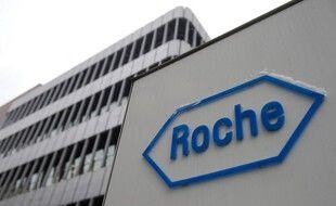 Le logo du laboratoire Suisse Roche (image d'illustration).