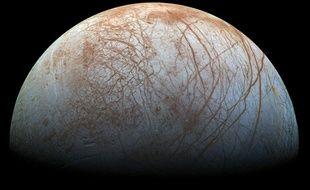 Europe, l'un des satellites de Jupiter.