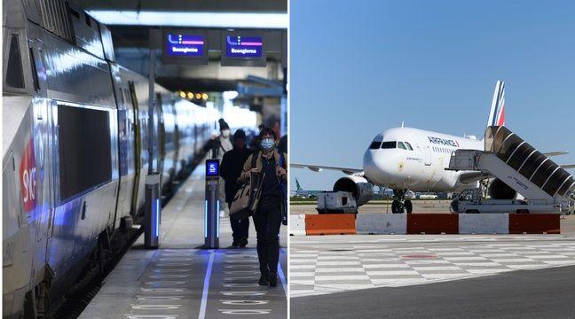 Pourquoi les règles de distanciation varient entre le train et l'avion