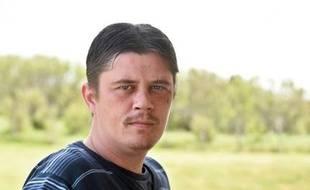 Daniel Legrand Jr, un des treize acquittés dans le procès Outreau , pose à Wimereux le 11 mai 2015