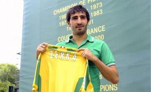 Monsef Zerka a passé huit saisons professionnelles et onze en formation avec Nancy. Il a signé pour deux ans avec Nantes.