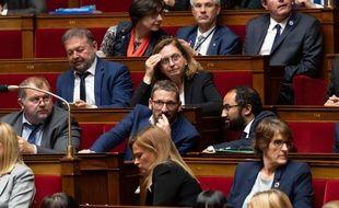 Matthieu Orphelin à l'Assemblée.