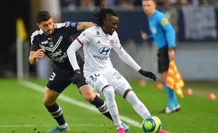 Traoré et Benito lors de Bordeaux-Lyon.