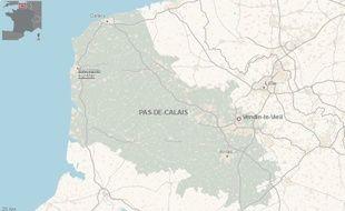 La ville de Vendin-le-Vieil, dans le Pas-de-Calais.