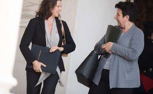 Les ministres Agnès Buzyn et Frédérique Vidal
