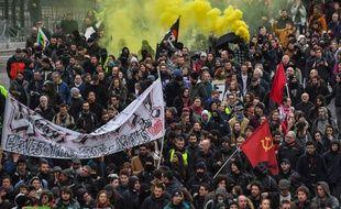 Manifestation contre la réforme des retraites, le 17 décembre 2019 à Nantes.