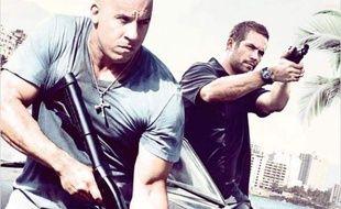 L'affiche de «Fast and Furious 5».