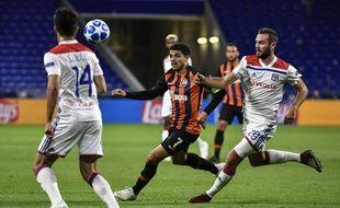 OL-Shakhtar joué à huis clos, le 2 octobre 2018 à Lyon.