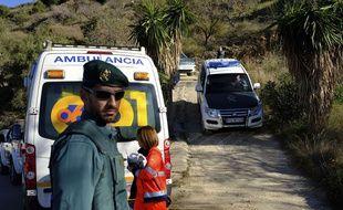 Les secours à pied d'œuvre pour retrouver l'enfant disparu, le 14 janvier 2019.