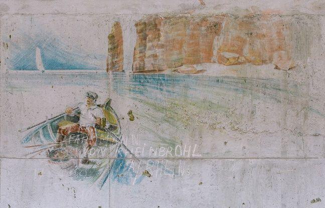 L'un des dessins retrouvés sur les parois de la Martha.