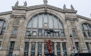 La Gare du Nord en décembre 2019