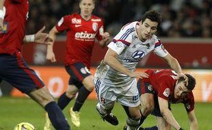 Yoann Gourcuff, ici lors de la défaite (2-1) à Lille le mois dernier, se fait énormément chambrer sur le web depuis sa nouvelle blessure.