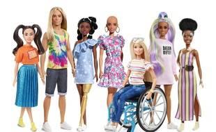 La gamme de poupées fashionistas, où chaque Barbie a une spécificité physique.