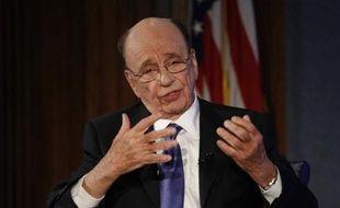 Rupert Murdoch à Washington, en avril 2010.