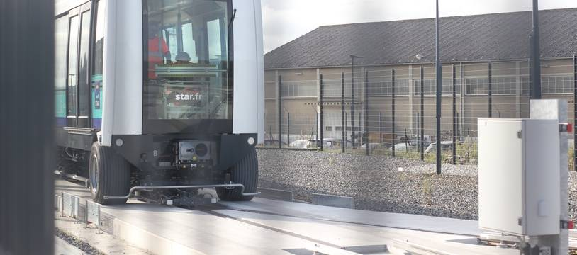 La ligne B du métro de Rennes ne circulera pas avant début 2022.