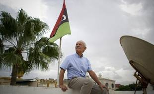 Tripoli, Libye. Portrait d'Olivier Bernos, Manager de la filiale SIDEM, spécialisée dans le dessalement de l'eau de mer, le 2 octobre 2012.
