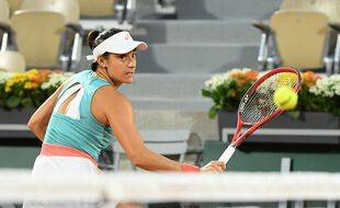 Caroline Garcia à Roland-Garros, le 29 septembre 2020.