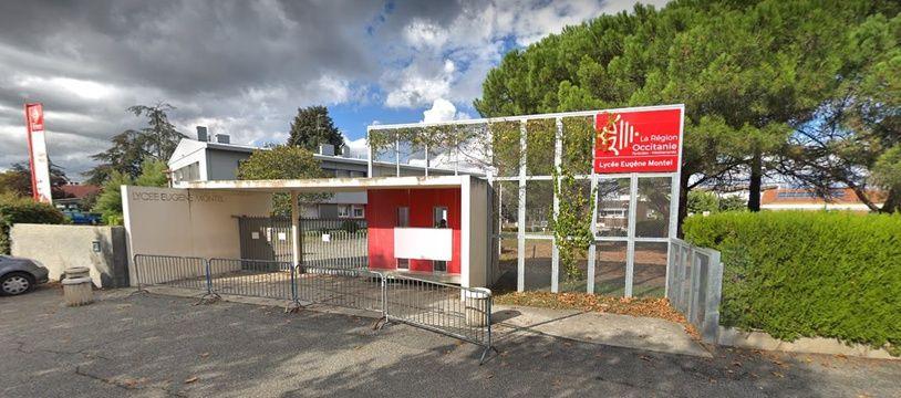 Le lycée Eugène-Montel de Colomiers.