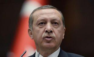 Recep Tayyip Erdogan à Ankara le 11 juin 2013.