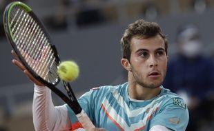 A Roland-Garros, Hugo Gaston avait chuté contre Dominic Thiem, en huitièmes de finale.