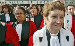 Les magistrats ont dénoncé le manque de moyens dans les tribunaux.