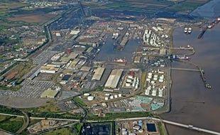Le port d'Immingham, dans le Yorkshire, en Angleterre.