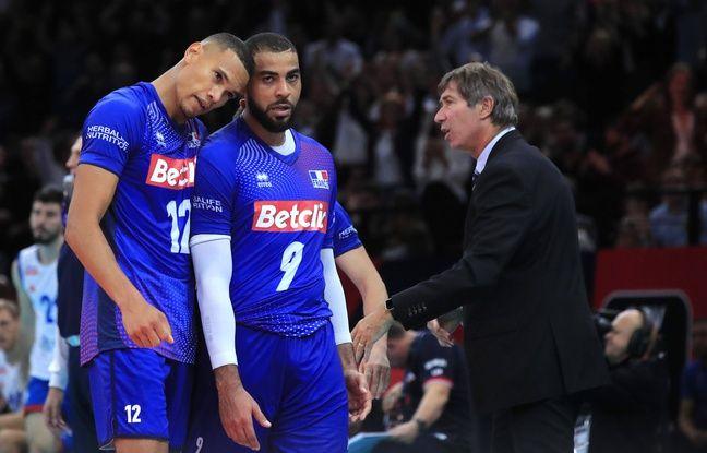 Euro de volley: Grosse désillusion pour la France, battue par la Serbie en demi-finale