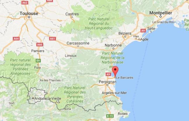 Location of Barcarès  (Pyrénées-Orientales)