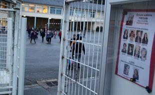 Les abords de l'école Trégain, dans le quartier de Maurepas, à Rennes.