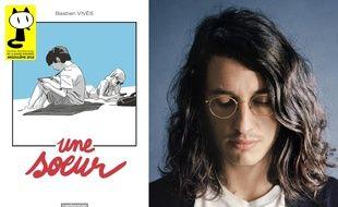 Bastien Vivès et son album Une soeur