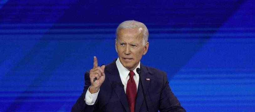 Joe Biden s'est montré combatif lors du troisième débat de la primaire démocrate, le 12 septembre 2019.