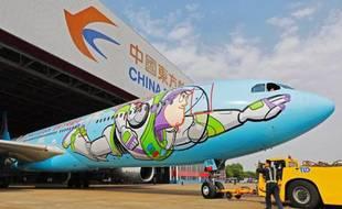 L'Airbus A330 de China Eastern Airlines aux couleurs de Toy Story.