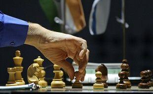 Une partie d'échecs (illustration).