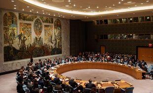 Réunion du Conseil de sécurité le 17 décembre à New York.