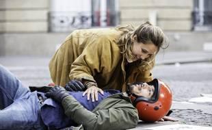 Julie de Bona et Samir Boitard dans « Je l'aime à mentir ».