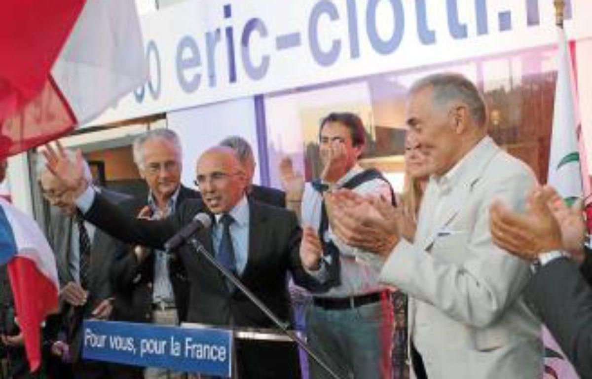 Eric Ciotti a annoncé dès 21h sa victoire dans la 1re circonscription. –  J. C.?MAGNENET/ANP/20 MINUTES