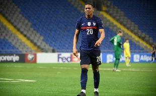 Anthony Martial s'est blessé lors de Kazakhstan-France, le 28 mars 2021.