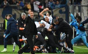 Les Marseillais fêtent leur qualif' pour les demi-finales de la Ligue Europa