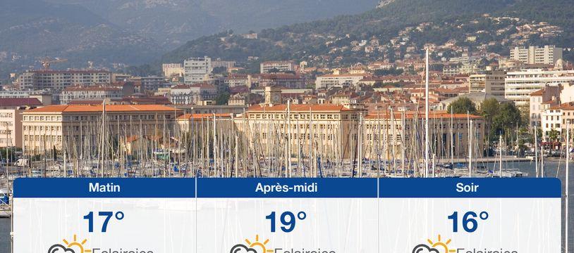 Météo Toulon: Prévisions du dimanche 24 mars 2019