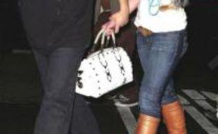 Britney Spears et Sam Lufti à Los Angeles, le 27 janvier 2008