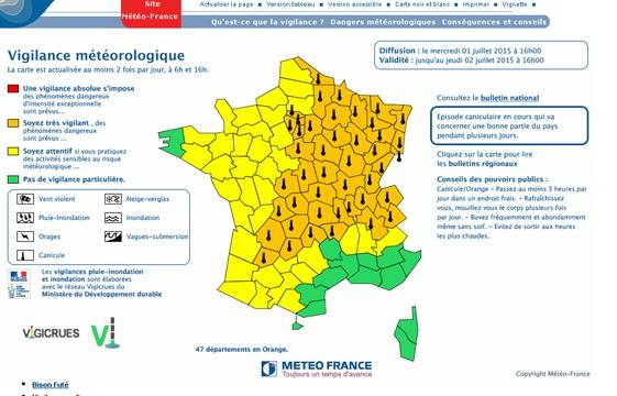 Heatwave : New Records in France 1