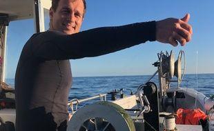 Fabien Gardon, jeune patron-pêcheur de 33 ans installé à Marseille depuis deux ans.