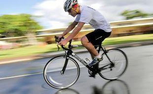 Les quatre jeunes cyclistes blessés ont été hospitalisés (illustration).