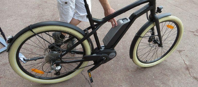 Un vélo électrique. (Illustration)