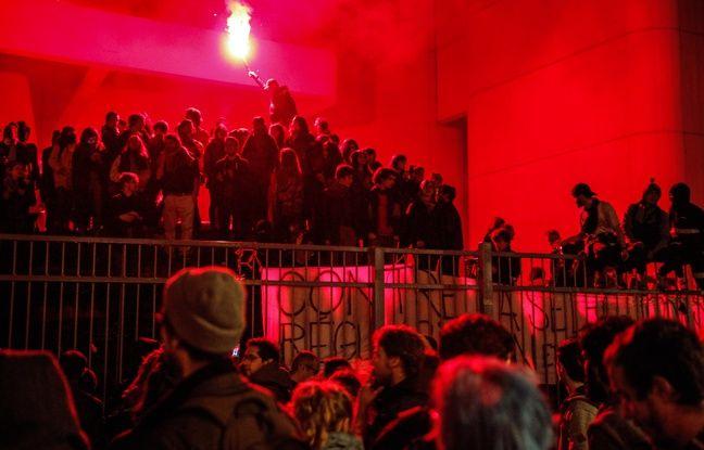 VIDEO. Evacuation de Tolbiac: «Alcool», «hypersexualisation»... «C'est la nuit qui nous inquiétait le plus», selon la direction