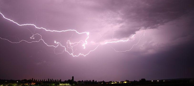 Météo: Attention aux orages, cinq départements placés en alerte orange (Illustration)